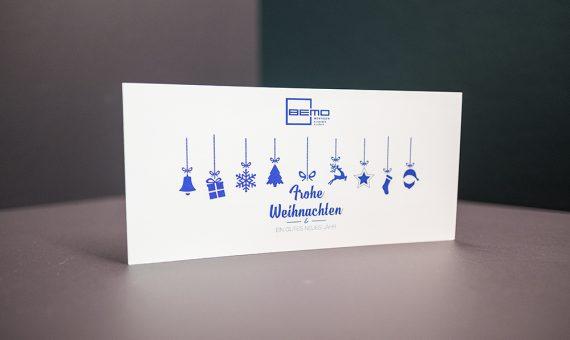 BEMO Weihnachtskarte