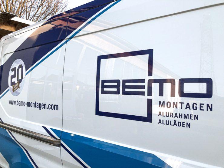 Bemo Montagen Autobranding